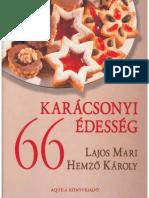 Lajos Mari, Hemző Károly - 66 Karácsonyi Édesség