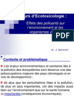 "Cours Ecotoxicologie ""BAE"" 2013 2014"