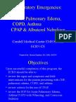 ModuleIV RespiratoryEmergencies CHF COPD Asthma