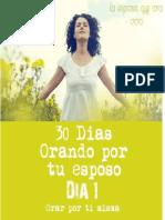 30 Dias Orando Por Tu Esposo
