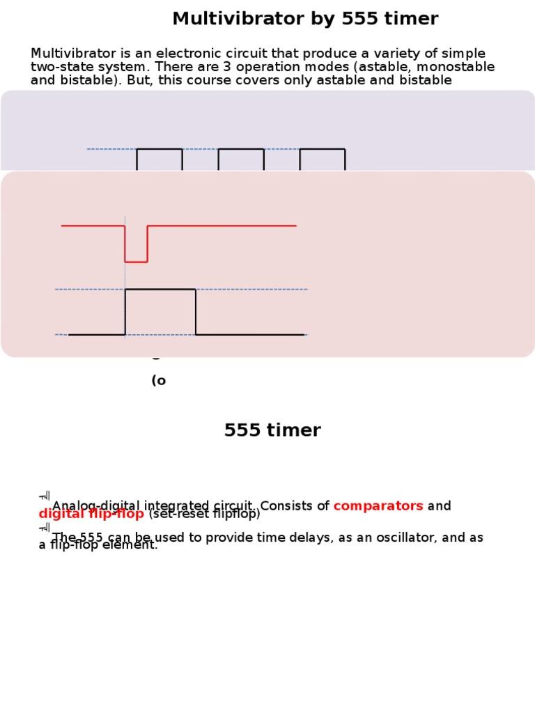 15 Chapter 7 555 Timer Oscillator