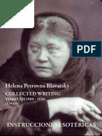Blavatsky, H.P. - Instrucciones Esotéricas