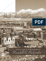 15 Great Austrian Economists