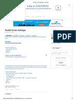 Parallel Cursor technique - Sap 4 All.pdf