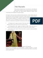 Hechicería y Palo Mayombe
