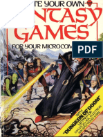 Write Your Own Fantasy Games for Your Microcomputer