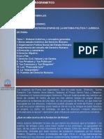 Unidad i. Tema 1. Síntesis Histórica y Conceptos Generales