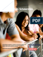 Britain higher education scholarships