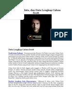 Profil, Biodata, dan Data Lengkap Calum Scott