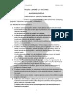 Política Entre Las Naciones - Morgenthau (Resumen)