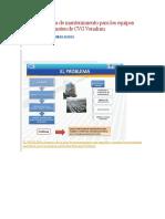 Iseño de Un Plan de Mantenimiento Para Los Equipos Payloaders Komatsu de CVG Venalum
