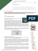 Tesis de Investigacion_ Tipos de Investigación