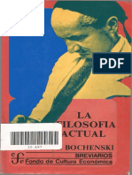 breviario FCE  La Filosofia actual
