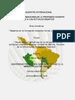 Experiencias formativas epja UPN Mérida