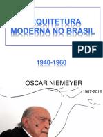 3.6 Arquitetura Moderna No Brasil