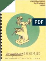 1966 Bridgeport Manual