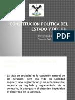 Constitución y Dd. Hh. 2016