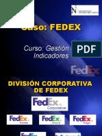 Gestion de Indicadores Fedex