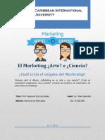 Marketing Arte ó Ciencia - RJ