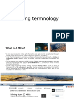 Mining Termnology
