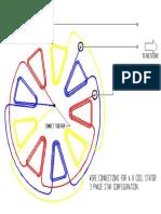Wind turbine stator wiring diagram