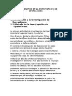 Metodo Gráfico en La Investigacion de Operaciones