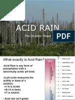 -Acid Rain Ppt