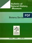 BNHM Botany Series