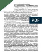 INCENTIVO POR ESTUDIO DE POSGRADO