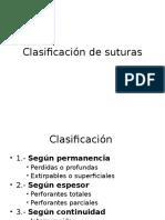 Clasificación de suturas.ppt