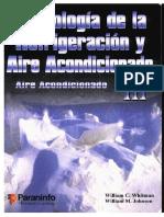 Whitman W - Tecnologia de La Refrigeracion Y Aire Acondicionado - Aire Acondicionado III