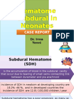 Hematome Subdural in Neonates.pptx