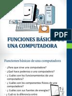 Funciones Básicas de Computadora