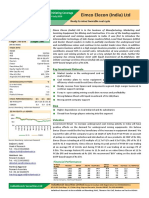 Eimco Elecon Equity Research Report July 2016