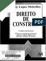 Direito de Construir Helly Lopes Meirelles 2005