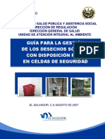 GUÍA PARA LA GESTIÓN DE DESECHOS SÓLIDOS DEL SECTOR HOSPITALARIO-MINSAL.pdf