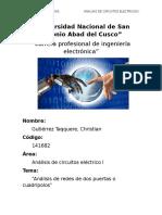 Analisis de Redes de Cuadripolos - Cristhian Gutierrez Taqquere (1)