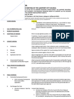071916 Lakeport City Council agenda packet