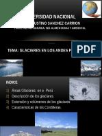Tema 9 Glaciares en Los Andes Peuanos