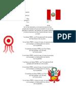 Cancion Fiesta Patria