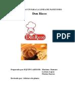 Manual Haccp.don Ricco. Panetón