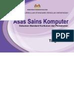 Kssm Asas Sains Komputer Tingkatan 1