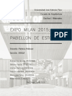 Pabellon Estonia Expo Milan 2015