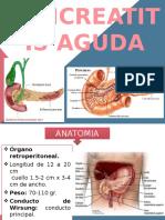 Pancreatitis Aguda Expo 07-03-16