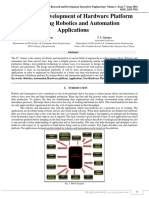 Design and Development of Hardware Platform for Testing Robotics and Automation Applications