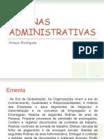 Rotinas Administrativas protocolo