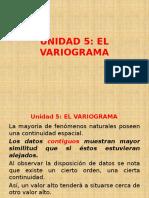 Unidad 05 El Variograma