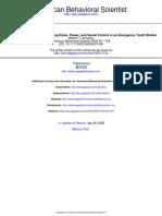 American Behavioral Scientist 2005 Armaline 1124 48