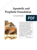 Apostolic Prophetic Foundation