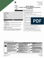 IR Compressor Manual New T-30